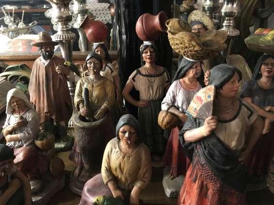 Terracotas estatuillas y cerámicas de paraguay