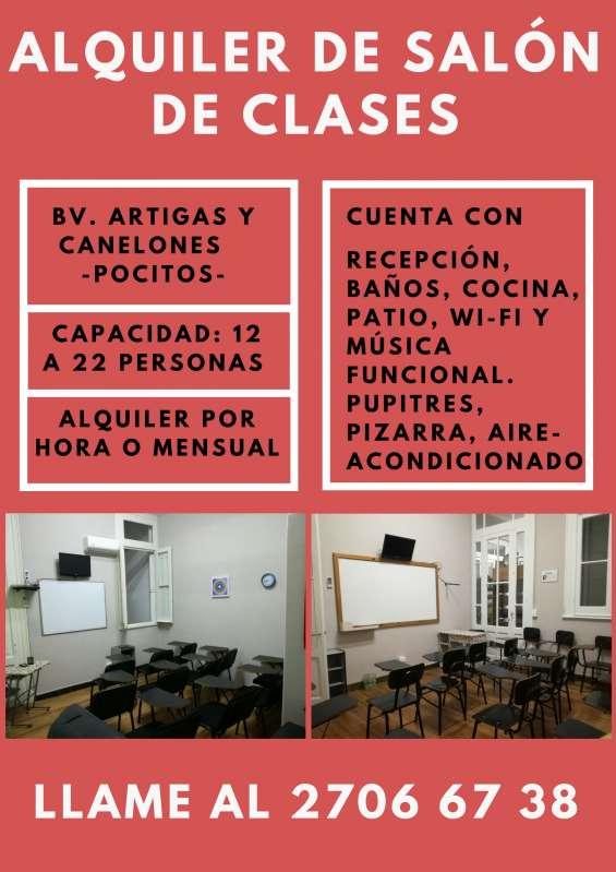Alquiler de consultorios, oficinas y salones de clases