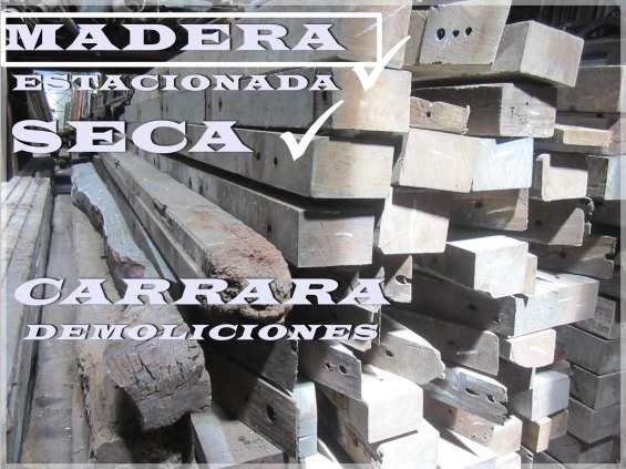 Tirantes vigas columnas palos de madera 22006811