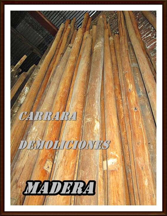 Barejones pelados madera carrara demoliciones