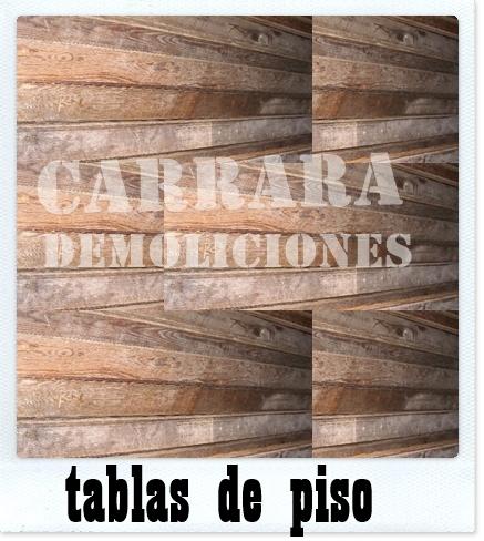 Tablas de piso machimbradas madera carrara