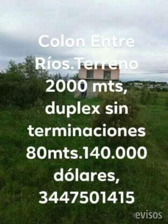 Fotos de Terreno2000mts venta directa sin comision inmobiliaria en argentina,colon,entre  3