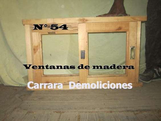 Tel: 22036409 ventana de madera carrara demoliciones