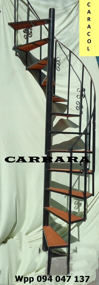Escalera caracol tel: 22035217 carrara demoliciones