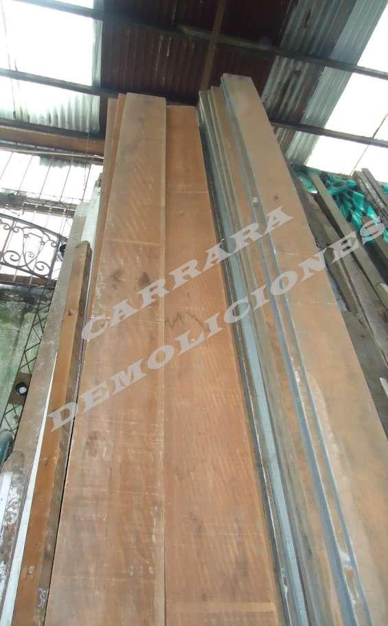 Tablones de madera carrara demoliciones