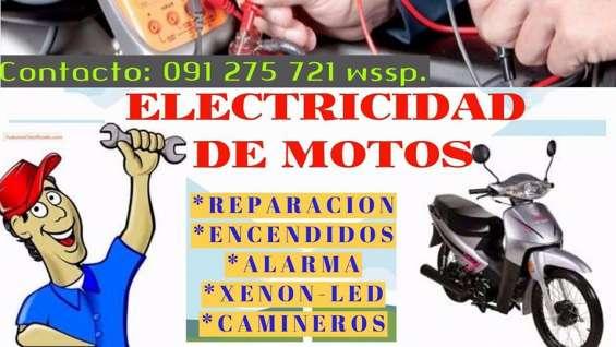 Ad_electricidad..si tiene problemas de encendido, arranque, luces, señaleros.. no le carga la bateria, etc.. ?!!no dude en consultar!!! 091 275 721