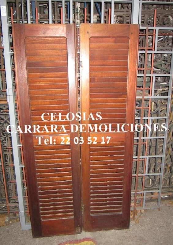 Celosias de madera teléfono: 2203 5217