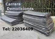 CHAPAS DE ZINC Tel: 22035217 Gruesas, duras