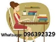 Digitador, digitadora, transcripcion, transcripciones