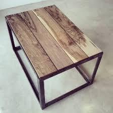 Mesa ratona metal y madera oferta!!!
