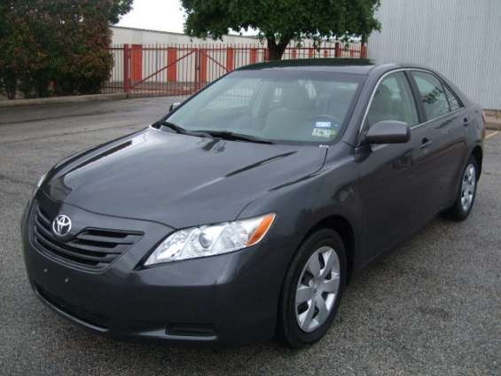 2009 toyota camry xle leather wood trim sunroof nav 16k for sale