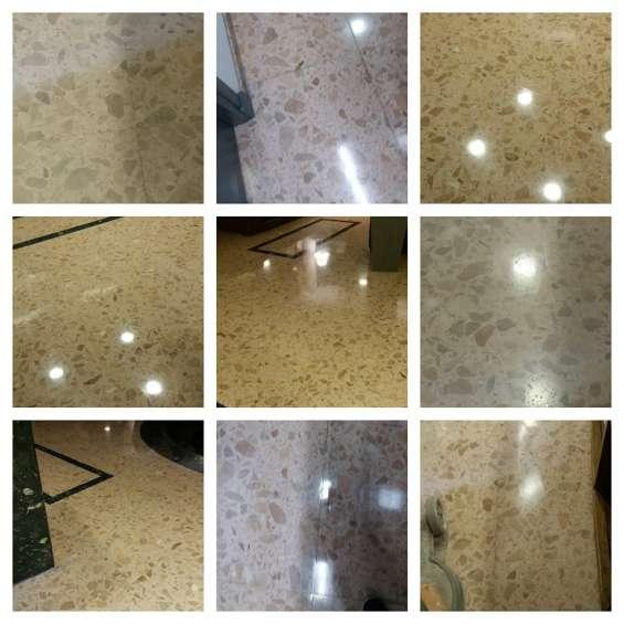 Pulido de pisos- mármol y monolíticos