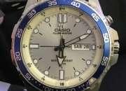 Reloj casio mtd 1079 super iluminator diver analog