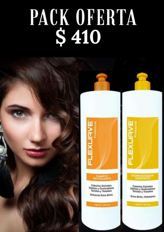 Pack shampoo + crema línea profesional