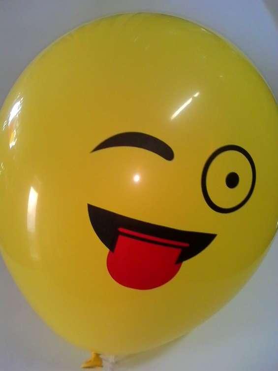 Cotillon globos emoji 50 unidades kon tiki