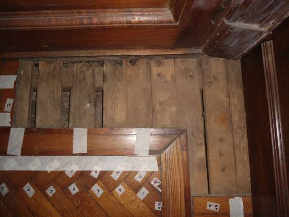 Reparacion de pisos de parquet y pinotea con carpeta o con cámara de aire