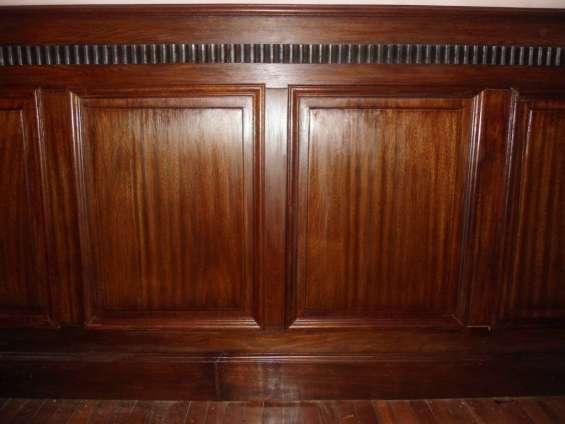 Fotos de Restauracion lustre conservación del mueble y maderas en general 8