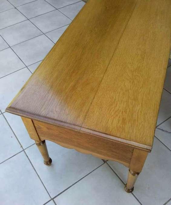 Fotos de Restauracion lustre conservación del mueble y maderas en general 4