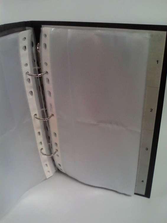 Porta tarjetas tapa dura para 400 uni. 15 x 25 cms kon tiki