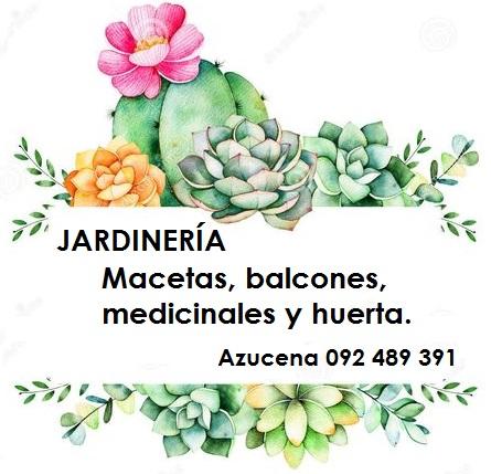 Jardinería huertas, medicinales, balcones