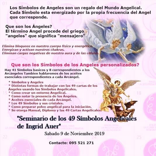 Seminario de los 49 simbolos angelicales