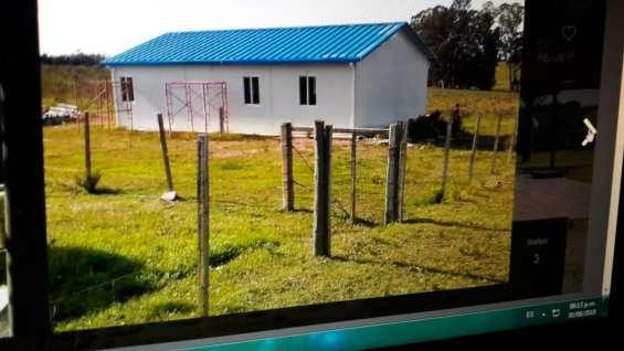 Casa prefabricada, 3 dormitorios 2 baños completos