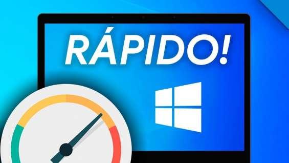 Optimizar y acelerar windows 10/7/8 en tu pc o laptop