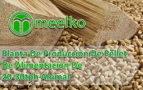 Planta de producción de pellet de alimentación de 20-30tph animal meelko
