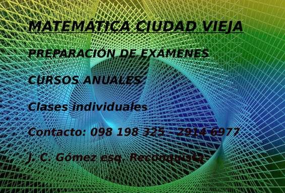 Clases de química - física y matemática - secundaria todos los cursos