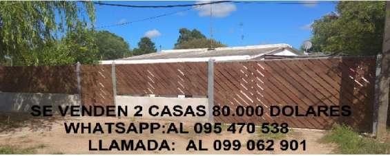 Dueño vende 2 casas 80.000 dolares