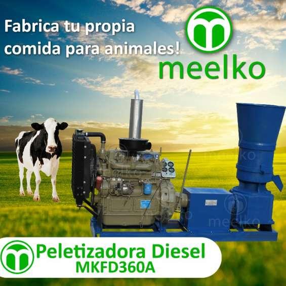 Peletizadora diesel meelko mkfd360a *