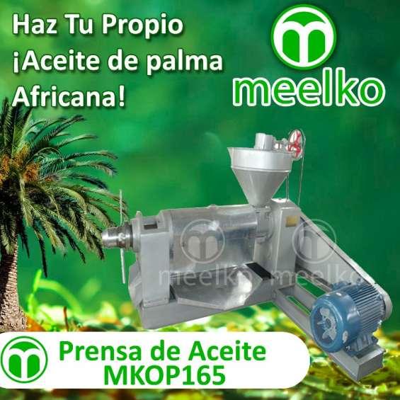Prensa de aceite meelko mkop165 *