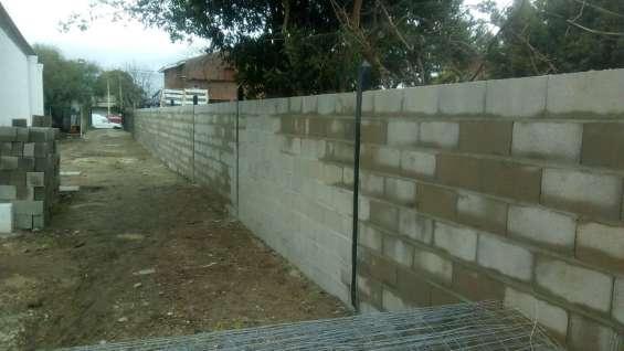 Muros perìmetrales x mtro2