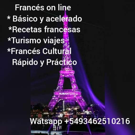 Cursos normales y acelerados de francés